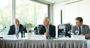 Δένδιας: Συζήτηση για την Ανατολική Μεσόγειο με τους πρέσβεις των κρατών-μελών της ΕΕ
