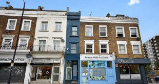 Πωλείται το πιο στενό σπίτι στο Λονδίνο και δεν είναι καθόλου φτηνό