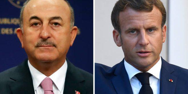 Νέα επίθεση Τσαβούσογλου: «Υστερικός» ο Μακρόν, «εξευτελίστηκε» στο ζήτημα της παρενόχλησης γαλλικών πλοίων