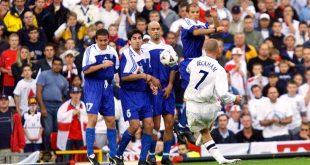 Ντέιβιντ Μπέκαμ: Ανατριχιάζω στη σκέψη του γκολ με την Ελλάδα