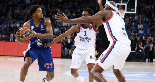 Euroleague: Να επιστρέψει στις νίκες ψάχνει ο Ολυμπιακός κόντρα στην Εφές