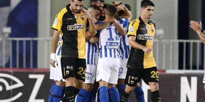Πρώτη ήττα για την ΑΕΚ, 1-0 από τον Ατρόμητο στο Περιστέρι