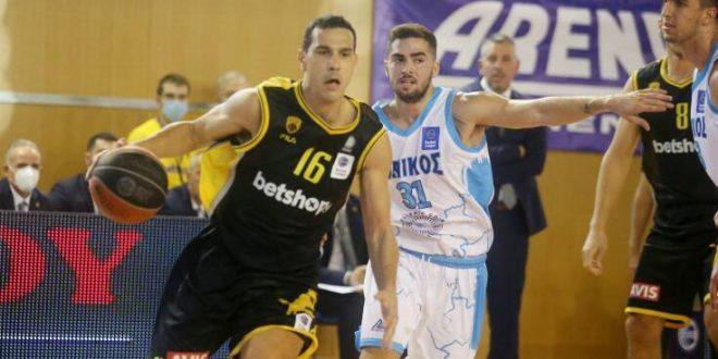 Με νίκη μπήκε η ΑΕΚ στη Basket League, 81-68 τον Ιωνικό εκτός έδρας