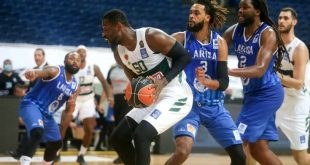Basket League: Με το δεξί ο Παναθηναϊκός, 69-60 τη Λάρισα στο ΟΑΚΑ