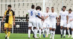 Χωρίς βαθμό παραμένει η ΑΕΚ στο Europa League, ήττα 2-1 από τη Λέστερ στο ΟΑΚΑ