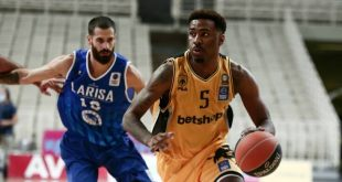 Basket League: Η ΑΕΚ νίκησε 87-68 επί της Λάρισας
