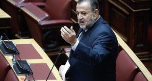 Βασίλης Κεγκέρογλου: Να αποβληθεί από τη Βουλή κάθε απομεινάρι της Χρυσής Αυγής