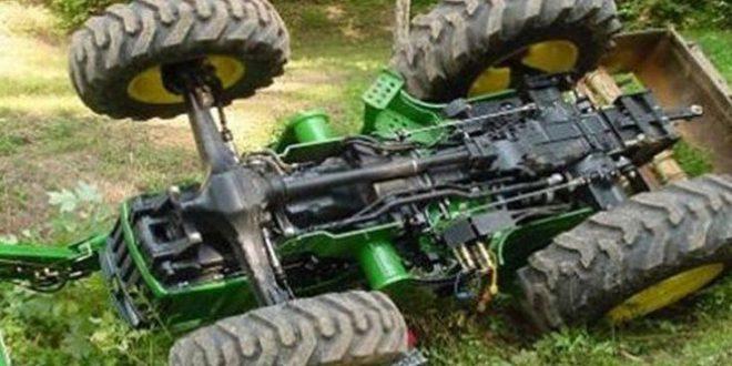 Ρέθυμνο: Νεκρός ένας αγρότης που τον καταπλάκωσε το τρακτέρ του