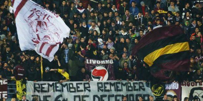 Λιβόρνο: Τρεις σταυροί, ένα κεφάλι γουρουνιού και ένα απειλητικό πανό στο γήπεδο της ομάδας