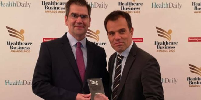 Silver Βραβείο για τη Βιομηχανία Φαρμάκου DEMO στα Healthcare Business Awards 2020