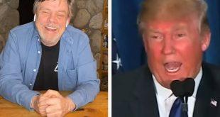 Μαρκ Χάμιλ: Η ξεκαρδιστική αντίδρασή του σε δηλώσεις του Ντόναλντ Τραμπ