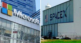 «Διαστημική» συνεργασία Microsoft-Space X