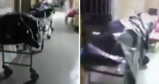 Ανατριχιαστικές εικόνες από Ρωσία: Δεκάδες πτώματα στοιβαγμένα στους διαδρόμους νεκροτομείου