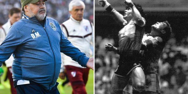 Μαραντόνα: Για τα γενέθλιά μου θέλω ένα γκολ στους Άγγλους με το δεξί μου χέρι