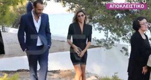 Η πρώτη εμφάνιση του Πάνου Μουζουράκη με τη νέα του σύντροφο