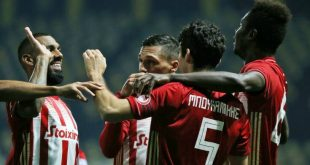 Νικητής και μόνος στην κορυφή ο Ολυμπιακός, 2-1 τον Άρη στο «Κλεάνθης Βικελίδης»