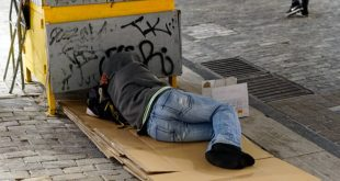 Πρωτοβουλίες για τη στήριξη των αστέγων από τη Δόμνα Μιχαηλίδου
