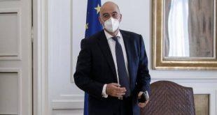 Καραντίνα τέλος για τον Νίκο Δένδια, επέστρεψε στο γραφείο του