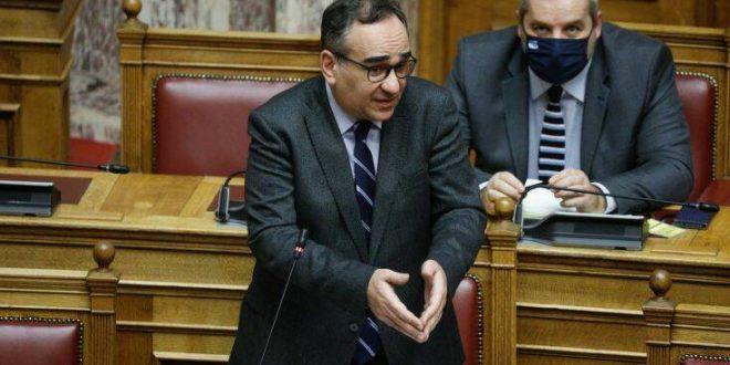 Βουλή: Ανέβηκαν οι τόνοι με αφορμή δήλωση Κοντοζαμάνη για την αντιμετώπιση του κορονοϊού
