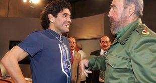 Ντιέγκο Μαραντόνα - Φιντέλ Κάστρο: Πέθαναν την ίδια μέρα - Η στενή τους φιλία και το τατουάζ στο πόδι