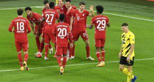 Bundesliga: «Τρένο» η Μπάγερν, νίκησε με 3-2 την Ντόρτμουντ εκτός έδρας
