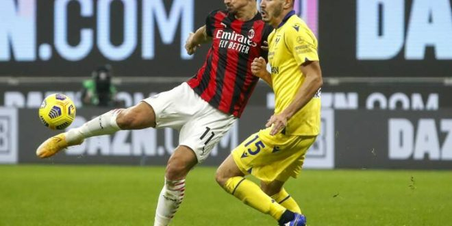 Serie A: Γκέλα και για τη Μίλαν, 2-2 με τη Βερόνα στο Σαν Σίρο