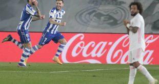 La Liga: Κάζο για την Ρεάλ, έχασε 1-2 από την Αλαβές στη Μαδρίτη