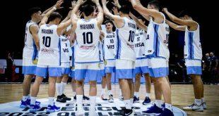 Η Εθνική μπάσκετ της Αργεντινής τίμησε τον Ντιέγκο