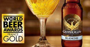 Η Grimbergen Blanche αναδείχθηκε ως η καλύτερη Βέλγικη Wheat μπύρα στον κόσμο