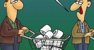 Αρκάς: Ο κορονοϊός, το σούπερ μάρκετ και το χαρτί υγείας