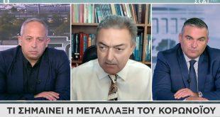 Βασιλακόπουλος: Σε όλο τον κόσμο υπάρχουν περίπου 275.000 μεταλλάξεις του κορονοϊού