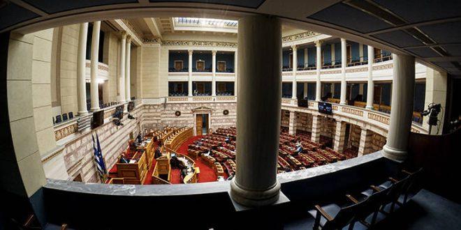 Υπερψηφίσθηκε στη Βουλή το νομοσχέδιο του υπουργείου Υγείας για τον κορονοϊό