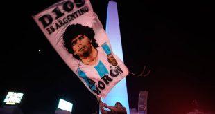 Το Μπουρζ Χαλίφα φωτίστηκε προς τιμή του Ντιέγκο Μαραντόνα