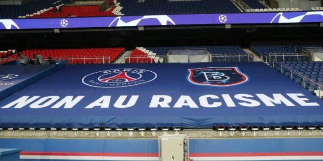 Με μηνυματα κατά του ρατσισμού ξανάρχισε το Παρί - Μπασακσεχίρ