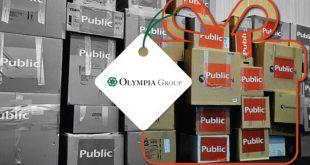 Ο Όμιλος Olympia δίπλα στα παιδιά των Κέντρων Κοινωνικής Πρόνοιας με δώρα από το Public