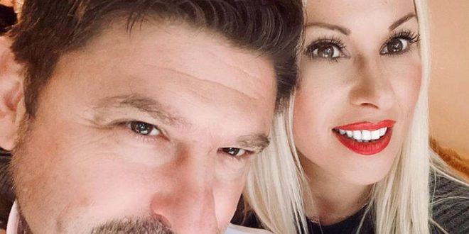 Νίκος Χαρδαλιάς: Η φωτογραφία και το μήνυμα της συζύγου του για την γιορτή του