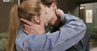 GNTM 3: Το θερμό φιλί του αποχωρισμού για Μαριαγάπη και Αιμιλιάνο