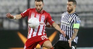 Αήττητος παρέμεινε ο Ολυμπιακός, 1-1 με τον ΠΑΟΚ στην Τούμπα