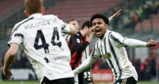 Serie A: Η Γιουβέντους έσπασε με 3άρα το αήττητο της Μίλαν και μπήκε στη μάχη του τίτλου