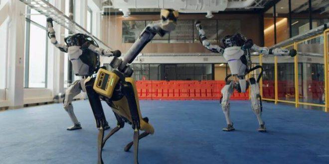 Με χορό αποχαιρέτησαν το 2020 τα ρομπότ της Boston Dynamics