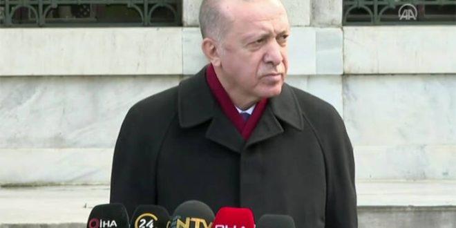 Ερντογάν: Ειμαι θετικός σε συνομιλίες με τον Μητσοτάκη