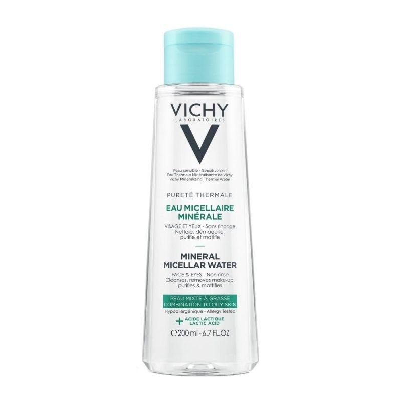 VICHY PURETE THERMALE MINERAL MICELLAR WATER LACTIC ACID